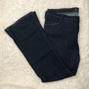Old Navy Dark Wash Bootcut Jeans [Size: 18]